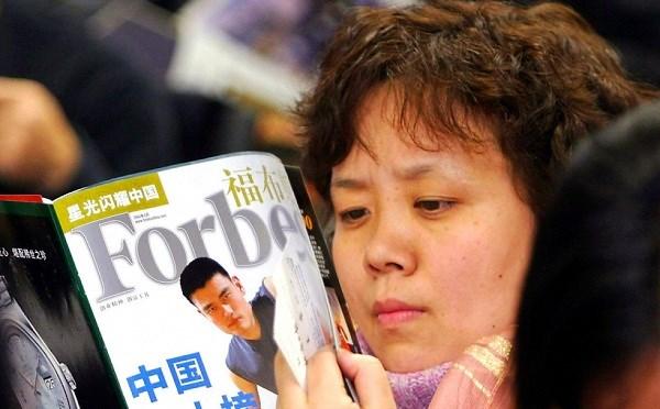 Trung Quốc có thêm 41 tỉ phú nhờ giá cổ phiếu đột ngột tăng
