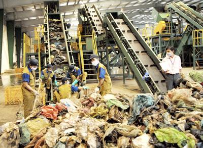 Hà Nội: đầu tư 217 tỷ đồng xây nhà máy xử lý rác thải
