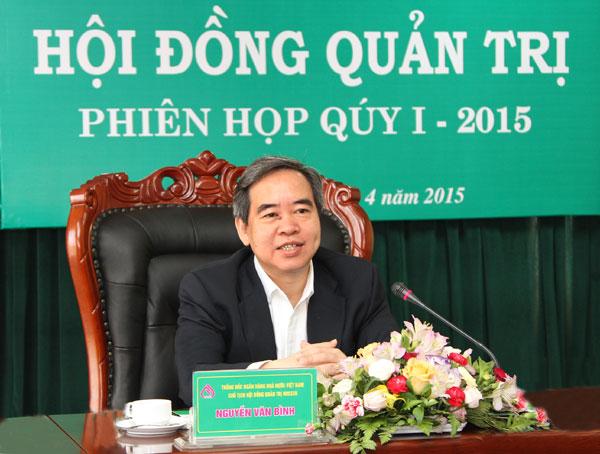Thống đốc NHNN Việt Nam kiêm Chủ tịch HĐQT NHCSXH chủ trì phiên họp
