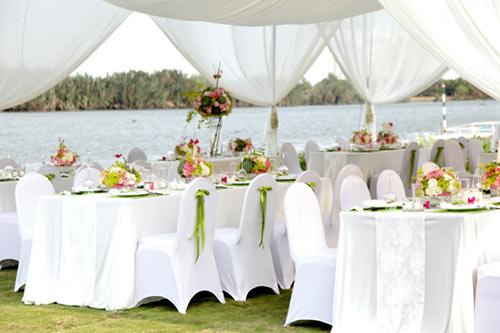 Bài trí không gian cưới theo phong thủy hôn nhân 2015