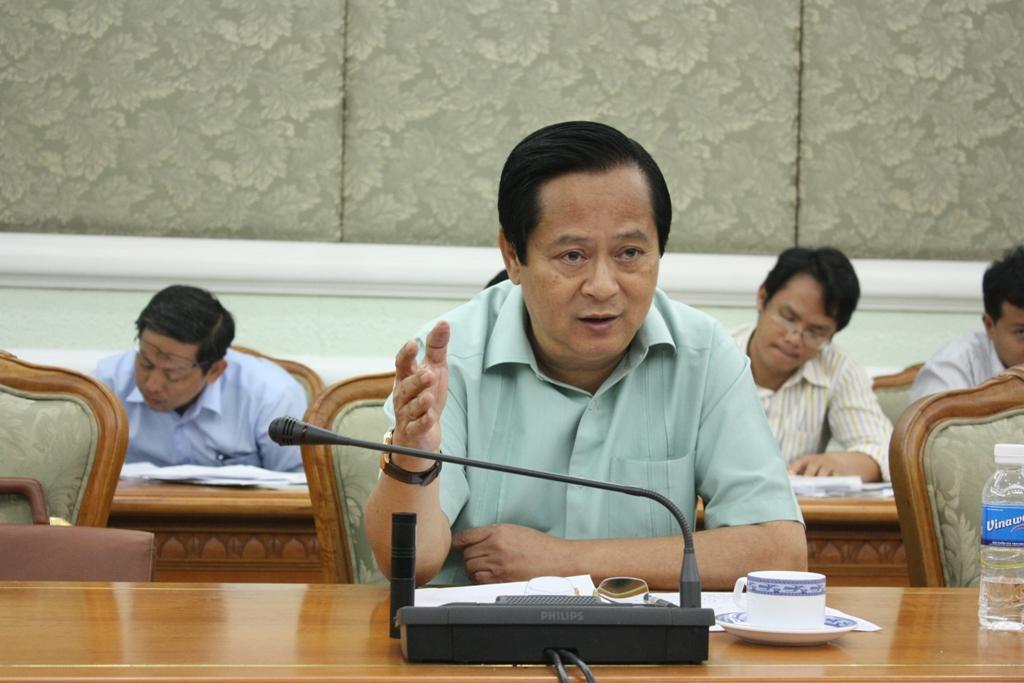 Ông Trần Quang Lâm - Phó Giám đốc Sở GTVT TPHCM.
