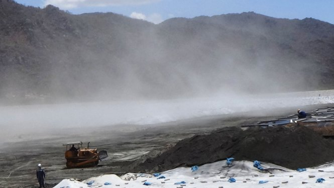 Vụ ô nhiễm tại Nhiệt điện Vĩnh Tân 2: EVN có lỗi lớn