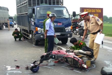 Mỗi ngày có 25 người chết vì tai nạn giao thông
