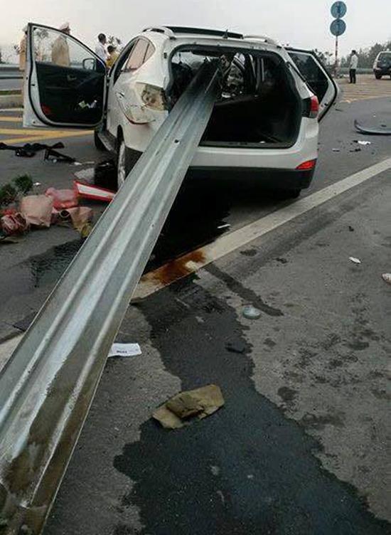 Vụ tai nạn kinh hoàng với xe Hyundai Tucson vào ngày 27/2