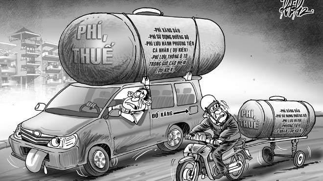Thuế và phí nào khiến người Việt gánh nhiều nhất ASEAN?