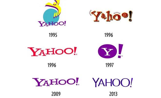 Vào năm 2013, Yahoo từ bỏ logo có phần tinh nghịch và sử dụng một logo mới nhìn chuyên nghiệp hơn.