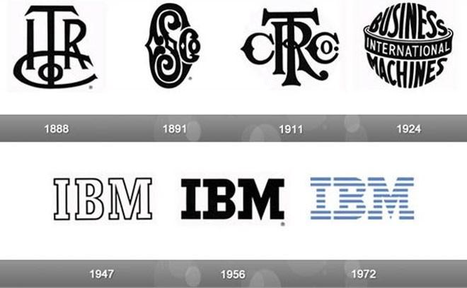 IBM chưa hề thay đổi logo kể từ năm 1972, nhưng đây vẫn là một trong những thương hiệu dễ nhận diện nhất trên thế giới.