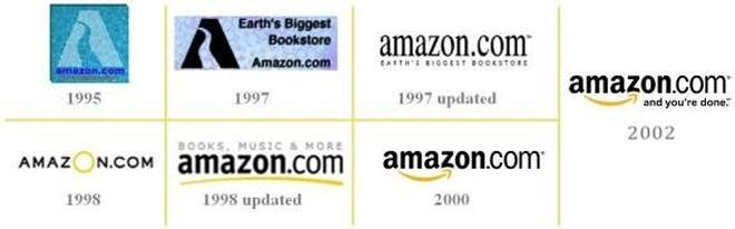 Logo của hãng bán lẻ trực tuyến Amazon đã thay đổi đáng kể sau nhiều năm, và giờ có vẻ như hãng này đã quay lại với logo hồi năm 2000.