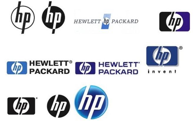 Hãng máy tính Hewlett Packard (HP) đã sử dụng nhiều logo kể từ khi thành lập vào năm 1939. Tuy vậy, có vẻ như hãng đã hài lòng với logo đơn giản hiện nay.