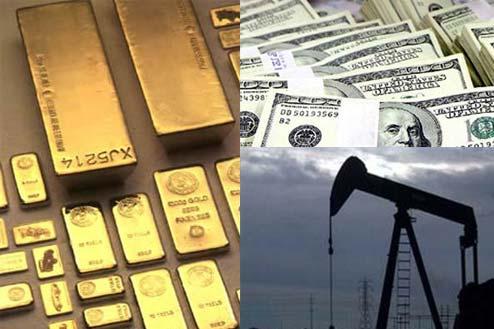 Tuần hao hụt của giá vàng (ảnh minh hoạ).