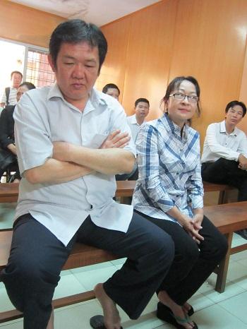 Vợ chồng Nga - Ngà tại Tòa
