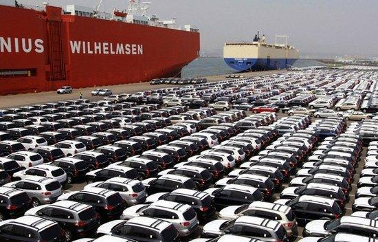 Lượng ô tô nhập khẩu từ Hàn Quốc năm 2014 là 6.050 chiếc, tăng gần 63%