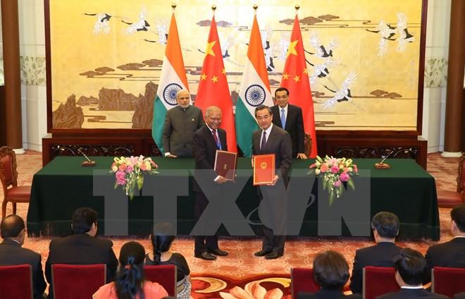 Ấn Độ và Trung Quốc ký nhiều thỏa thuận trị giá hơn 22 tỷ USD