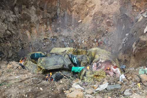 Rùa thối, lợn chết: Đã chôn xuống đất lại móc lên bàn nhậu