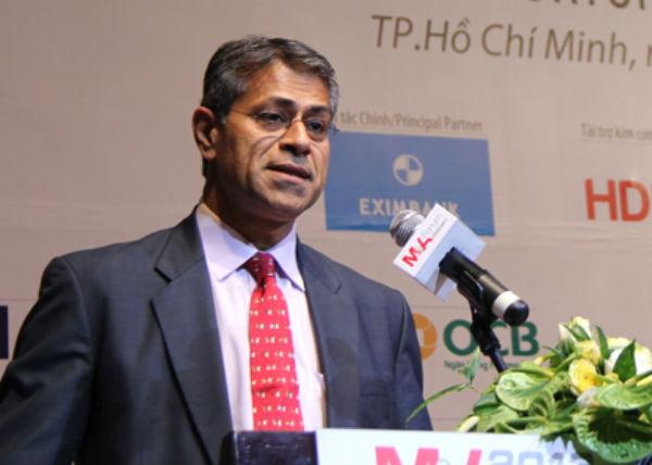Ông Sanjay Kalra, Đại diện Quỹ tiền tệ Quốc tế IMF tại Việt Nam