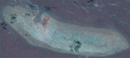 TQ muốn biến Đá Châu Viên thành căn cứ hải quân