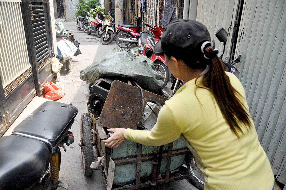 Người phụ nữ mua ve chai đã lên kế hoạch cho số tiền 5 triệu yên