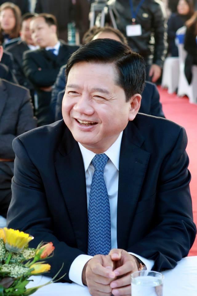 Bộ trưởng Bộ Giao thông Vận tải (GTVT) Đinh La Thăng.