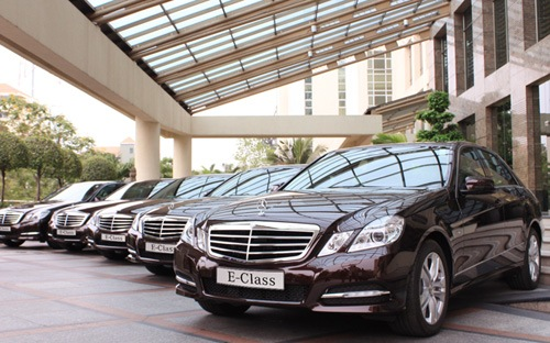 Triệu hồi hơn 1.000 xe Mercedes tại Việt Nam