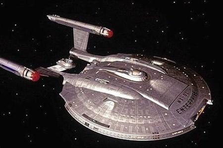 Con tàu vũ trụ nổi tiếng trong bộ phim Star Trek.