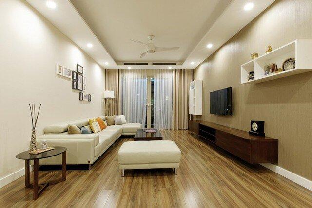 Căn hộ 123m2 nội thất đơn giản nhưng nuột nà ở Hà Nội