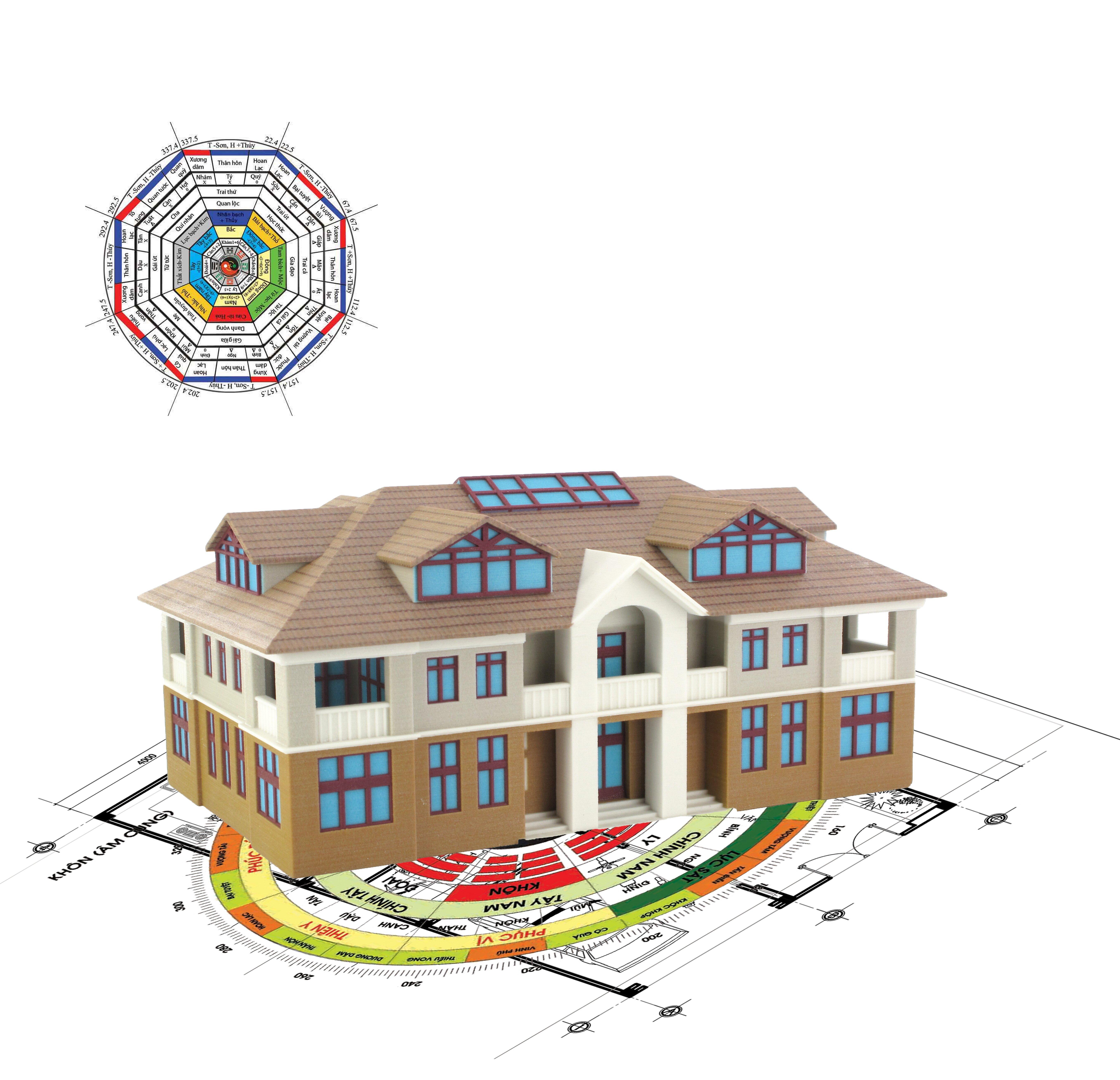 Thuyết phong thủy nào cần chú ý khi mua nhà?
