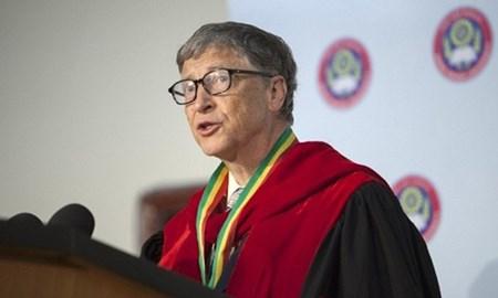 """Tỉ phú Bill Gates: """"Mọi người đừng bỏ học như tôi"""""""