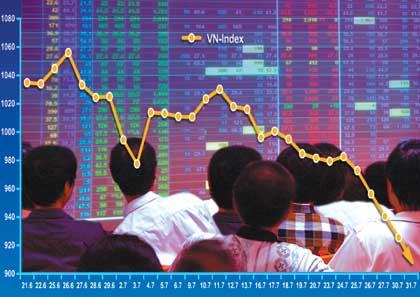 Thị trường chứng khoán Việt Nam đang đi thụt lùi