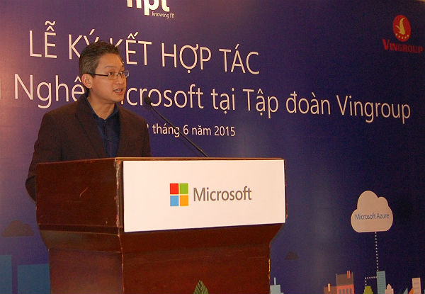 Vingroup bắt tay Microsoft nâng cao hiệu quả quản trị doanh nghiệp