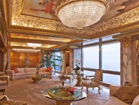 Cuộc sống đế vương của ứng cử viên tổng thống Mỹ Donald Trump