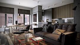 Những căn hộ phong cách với gam màu trung tính