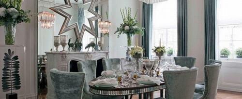 Những không gian xinh đẹp với gam màu bạc