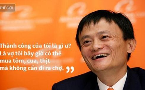 """Jack Ma luôn có những triết lý sống""""như đinh đóng cột"""""""