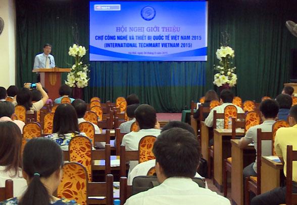 Chợ công nghệ và thiết bị quốc tế Việt Nam 2015