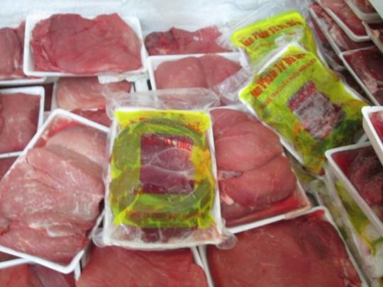 Đặc sản thịt rừng làm từ... heo đông lạnh