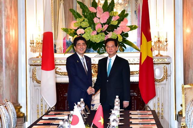 2 Thủ tướng tại cuộc hội đàm.