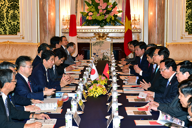 Các vấn đề được chia sẻ thẳng thắn, chân thành trong cuộc hội đàm cấp cao Nhật - Việt.