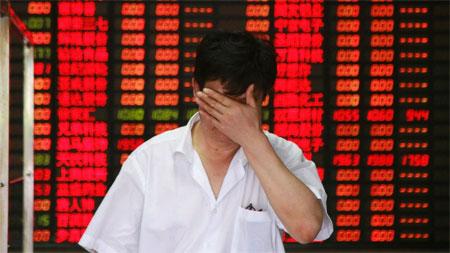 Chứng khoán Trung Quốc giảm mạnh nhất 8 năm rưỡi
