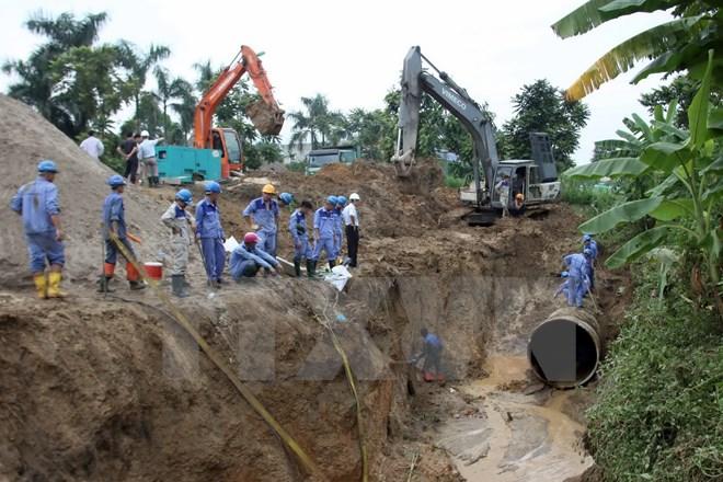 Tháng 10, Vinaconex sẽ khởi công giai đoạn 2 dự án nước sông Đà