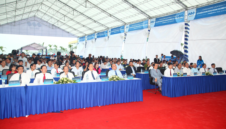 Lễ khởi công thu hút hơn 1.000 người tham dự.