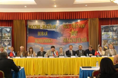 Hoạt động của Hội nghị Việt Nam - LB Nga