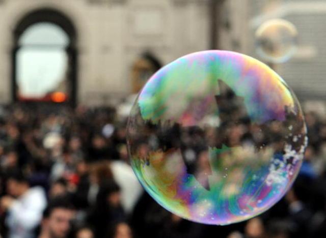 Lo bong bóng tài sản vì tín dụng tăng
