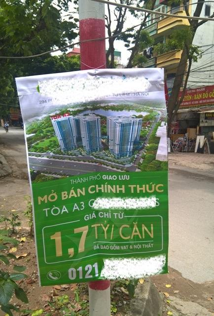 Một dự án chung cư thương mại Hà Nội rao bán bao gồm cả nội thất và thuế VAT trong giá bán