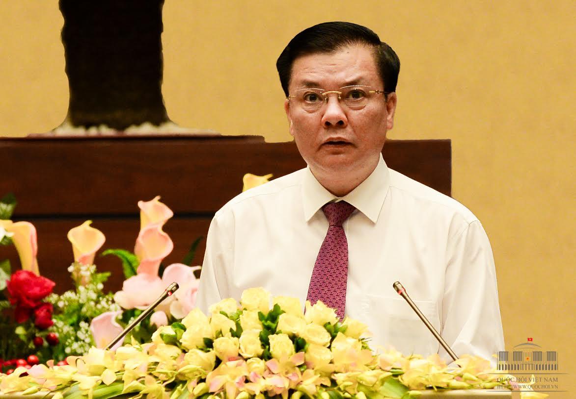 Bài trình bày của Bộ trưởng Đinh Tiến Dũng được đánh giá là khá dài dòng