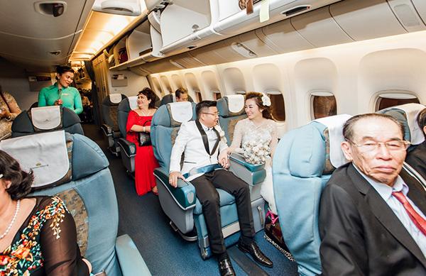 Rước dâu bằng máy bay