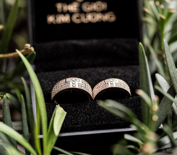 Nhẫn cưới của Đức Thắng, Thu Thuỷ khá đơn giản nhưng tinh tế