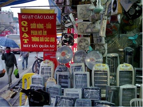 Hà Nội:  Rét kỷ lục, thiết bị sưởi thổi giá gấp 4 lần