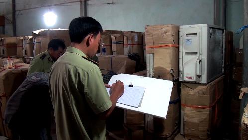Hàng ngàn vụ vi phạm về hàng hóa đã bị lực lượng chức năng phát hiện, xử lý