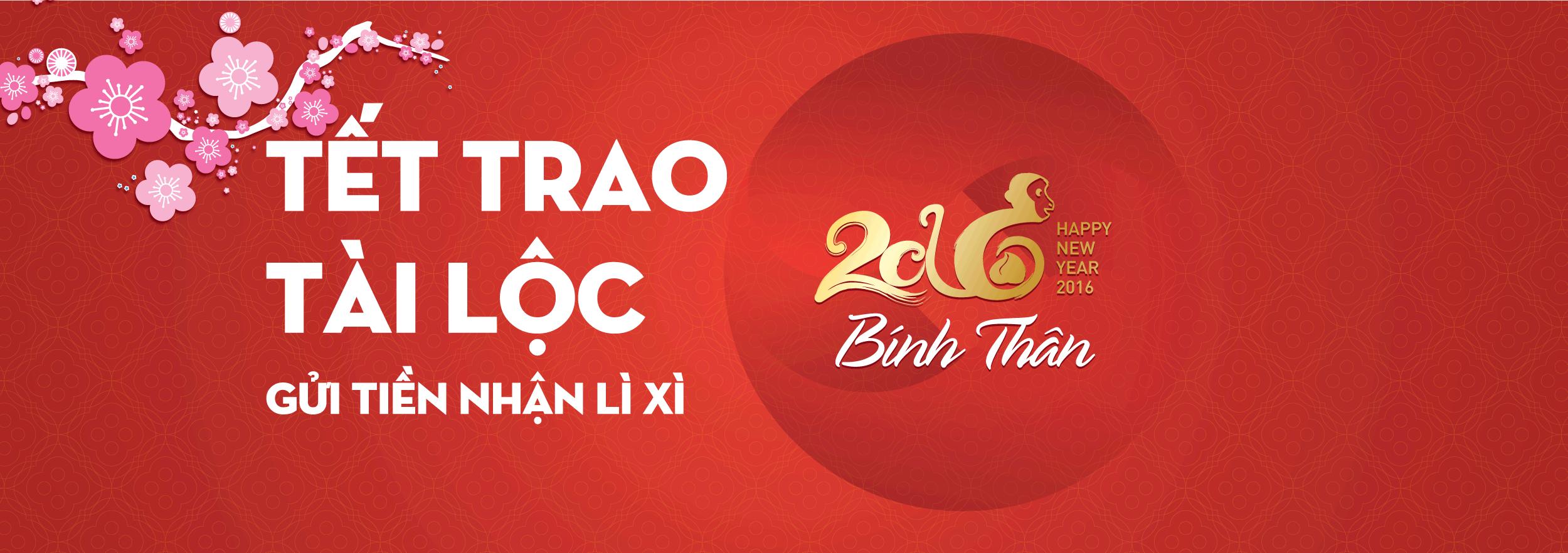 Tết trao tài lộc, NCB tri ân khách hàng nhân dịp Tết Bính Thân 2016