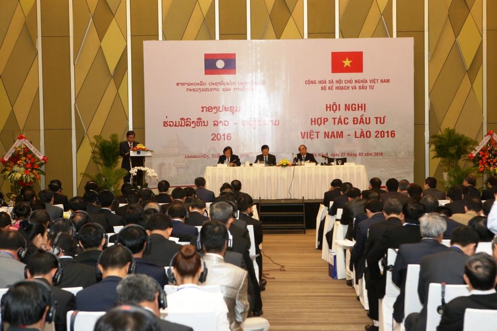 """Phó Thủ tướng: """"Coi đầu tư của Việt Nam vào Lào là đầu tư cho ta"""""""